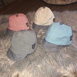 Infant Adjustable Hats / set of 4